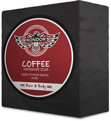 kondor soap coffe